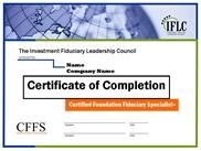 IFLC-CFFS-Certificate